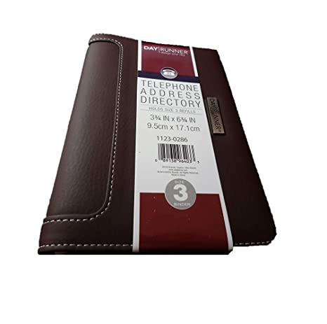 photograph about Day Runner Binder named : Working day Runner Cell phone Protect Listing 3-3/4\