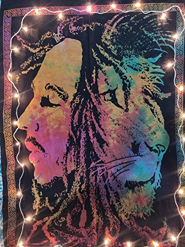 ICC Bob Marley Lion Face Poster 30x40In