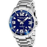 Men's 395.33U16 Aquadiver Regatta Analog Swiss Quartz Stainless Steel Link Bracelet Watch