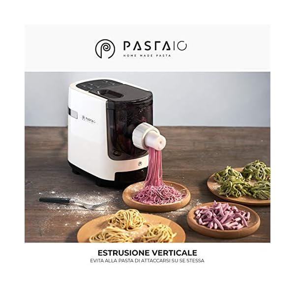 PASTAIO | Macchina per la Pasta Fresca e per gli Impasti. Pasta Maker, fino a 800g di pasta per ciclo, pesatura… 4