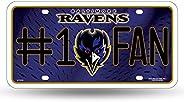 NFL Number One Fan License Plates