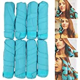 Girls' Sleep Styler, Nighttime Hair Rollers DIY Hair Styling Curlers Hair Curling Tool for Long Thick or Curly Hair
