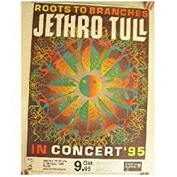 Jethro Tull Roots TO Branches Tour Poster