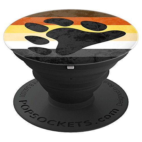 Gay Bear Pride Flag - PopSockets Grip and Stand for Phones and Tablets