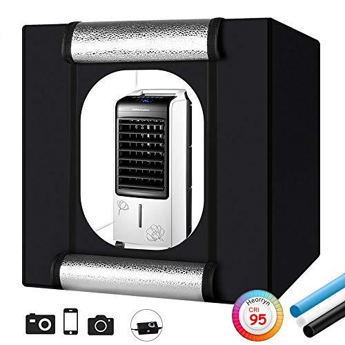 "Heorryn Professional Photo Light Box, 32x32x32 Inches 32""/80"
