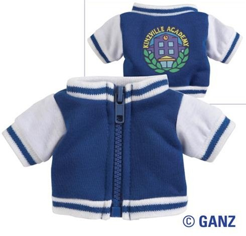 f06020149 Amazon.com  Webkinz Clothing Varsity Jacket  Toys   Games