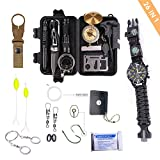 26 in 1 Professional Emergency First Aid Kit and Survival Watch for Everyday Use