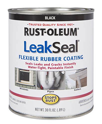 Rust-Oleum 271791 Leak Seal Flexible Rubber Coating Sealant, ()