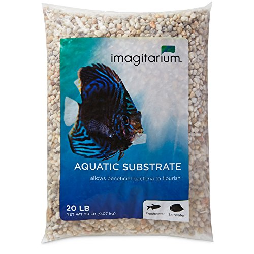 Imagitarium Snowy River Aquarium Gravel, 20 LBS by Imagitarium