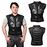 Cheng-store Motorcycle Protective Vest, Sport Motocross MTB Racing Sleeveless Armor Vest, Adults Dirt Bike Body Chest Spine Guard Protector, M Size
