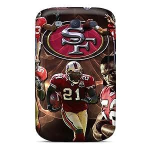 WWOStore Galaxy S3 Hybrid Tpu Case Cover Silicon Bumper San Francisco 49ers