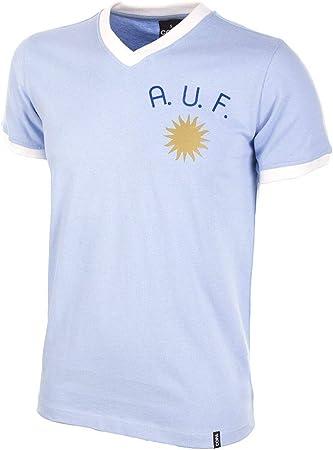 COPA Football - Camiseta Retro Uruguay años 1970: Amazon.es ...