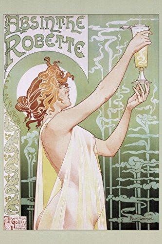 Henri Privat Livemont Absinthe Robette Art Nouveau Vintage Advertisement Ad Print Mural Giant Poster 36x54 inch