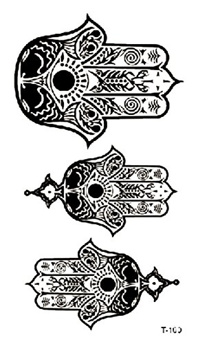 hamsa protection hands temporary tattoo unique wholesale -