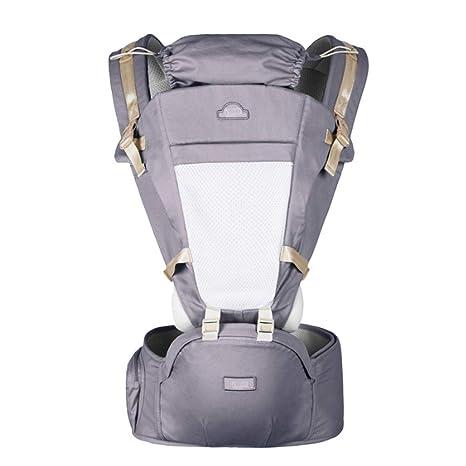 6 en 1 Convertible Baby Carrier con Asiento de Cadera Mochilas Portabebes Ergonómico Diseñado/Manos