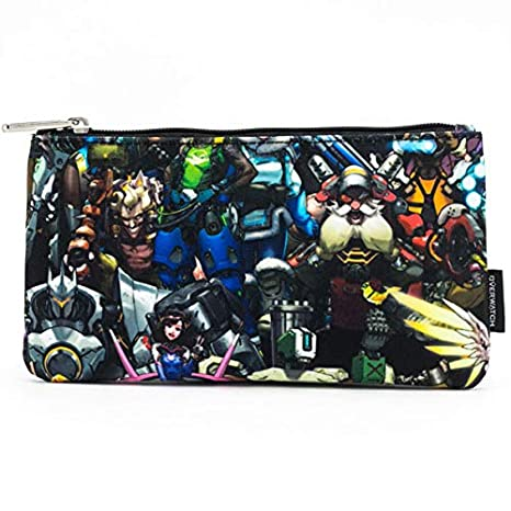 Amazon.com: Overwatch by LoungeFly Coin Case Multi Character ...