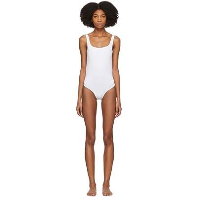 (アクネ ストゥディオズ) Acne Studios レディース 水着・ビーチウェア ワンピース White Willy Swimsuit [並行輸入品]