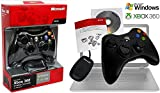 xbox remote wireless - Microsoft Xbox 360 Wireless Controller Gamepad and USB Transceiver for Windows PC