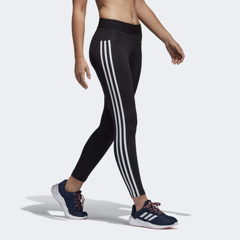 adidas Leggings »W E 3 STRIPES TIGHT«, grau, Gr.L XXL