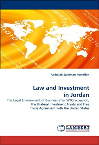 Amazon Law And Investment In Jordan The Legal Environment Of