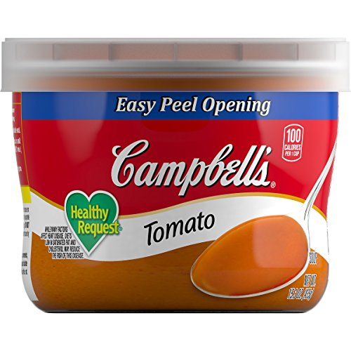 Campbell's Healthy Request Soup, Tomato, 15.3 Ounce (Pack of ()