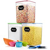 Best Flour Containers - Large Airtight Food Storage Containers - Fungun Cereal Review