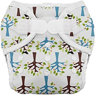 product image for Thirsties Duo Diaper, Blackbird, Size One (6-18 lbs) (Discontinued by Manufacturer)
