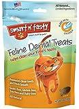 Smart n' Tasty Cat Chicken Dental Grain Free Treats, 3-Ounce