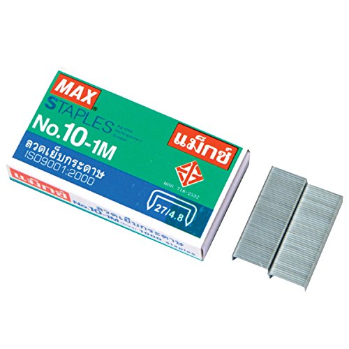 1-x-flat-clinch-staples-mini-box-of-1000-by-max-no10