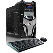 CybertronPC Shockwave X6-9600 White Gaming Desktop -AMD FX-6300, 16GB DDR3, NVIDIA GTX960, Microsoft Windows 10
