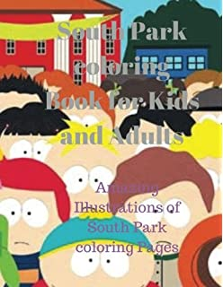 Amazon.com: South Park Colouring Book (unofficial) (9781519379948 ...