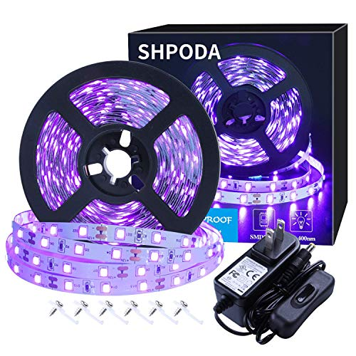 SHPODA 16.4ft LED UV