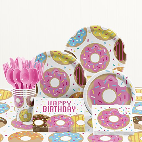 Donut Time Birthday Party Supplies (Donut Themed Party)