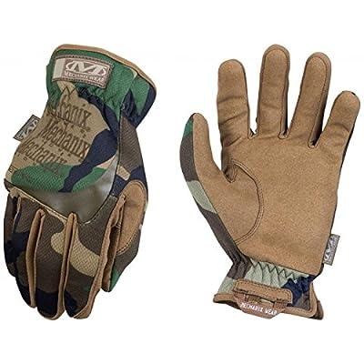 Mechanix Wear Tactical FastFit Woodland Camo