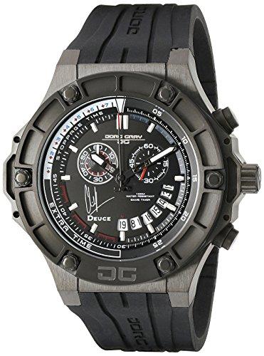 Jorg Gray Men's JG2500-22 Analog Display Quartz Black Watch