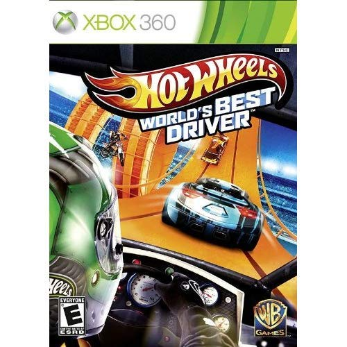 Hot Wheels World's Best Driver - Xbox 360 Standard Edition (Best Xbox 360 Games)