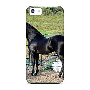 Fashion Tpu Case For Iphone 5c- Black Y Defender Case Cover