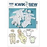 KWIK-SEW PATTERNS K2433OSZ Rompers Sewing