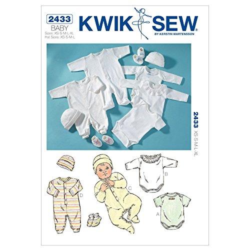 KWIK-SEW PATTERNS K2433OSZ Rompers Sewing Pattern, Jumpsuits