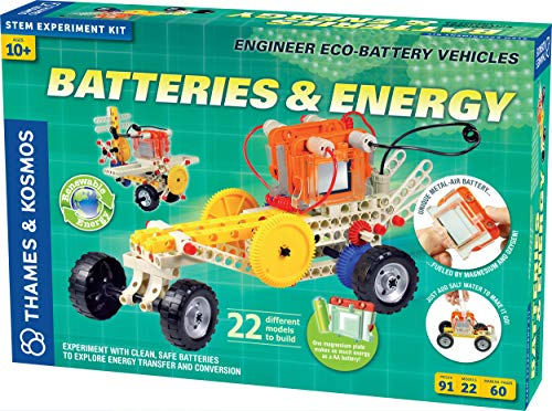 Best Buy! Thames & Kosmos Batteries & Energy S.T.E.M. Experiment Kit | Engineer Eco-Battery Vehicles...