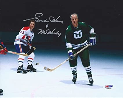 check out 3382e a4162 Gordie Howe Signed 8x10 Photo Hartford Whalers Mr. Hockey ...