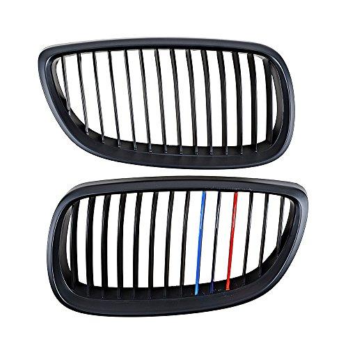 Price comparison product image Matte Black M Color Kidney Grille Grill for BMW 328i 335i E92 / E93