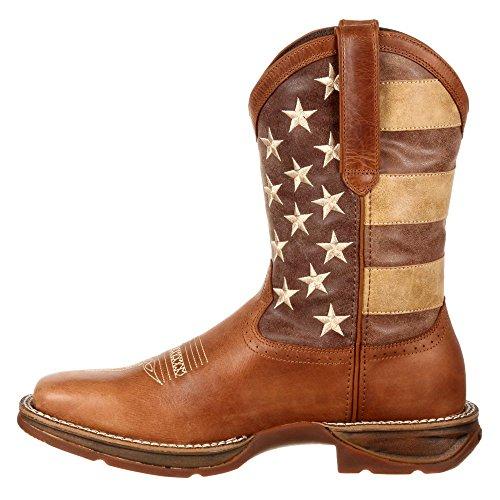 DDB0078 Men's Western Durango Brown Boot 5HFOwqx