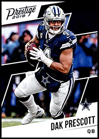 fab6eaec002 2018 Prestige NFL #163 Dak Prescott Dallas Cowboys Panini Football Card