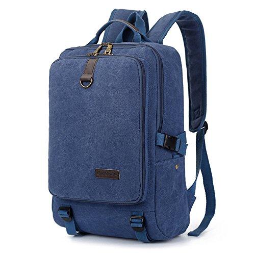 Bolso De Hombro Doble De Gran Capacidad Bolsa Bolsa Bolsa De Ordenador De Moda De Tendencia Retro Bolsa De Deporte De Ocio,Azul Blue