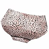 Changeshopping Women Leopard Butt Hip Padded Seamless Enhancer Low Waist Panties