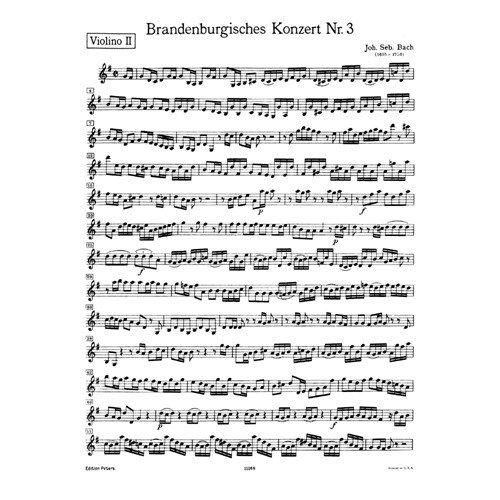 Brandenburg Concertos Violin - 7