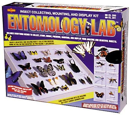 Entomology Kit (Educational Science Entomology Lab Insect Collecting Kit With Net EL201)