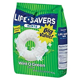 LifeSavers Mints, Individually Wrapped, Wint O Green 41 oz