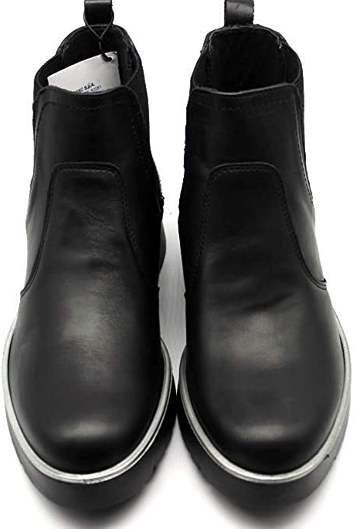 IGIeCO 4168811 Nero Polacchine Donna alla Caviglia Fashion